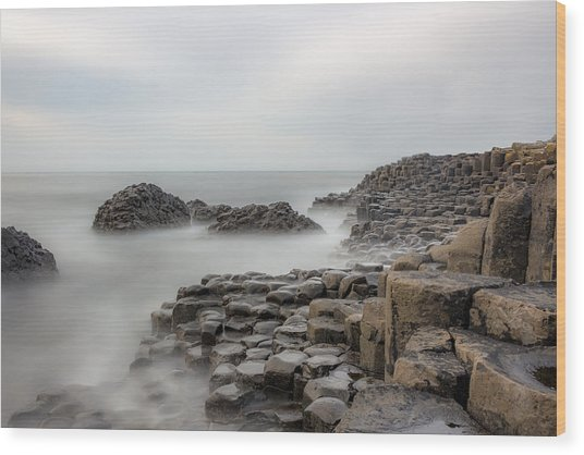 Giants Causeway Wood Print