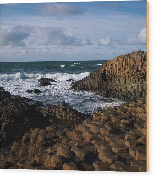 Giant's Causeway Wood Print by Tess Haun