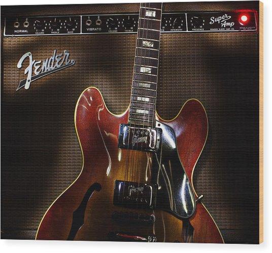 Gibson 335 Wood Print