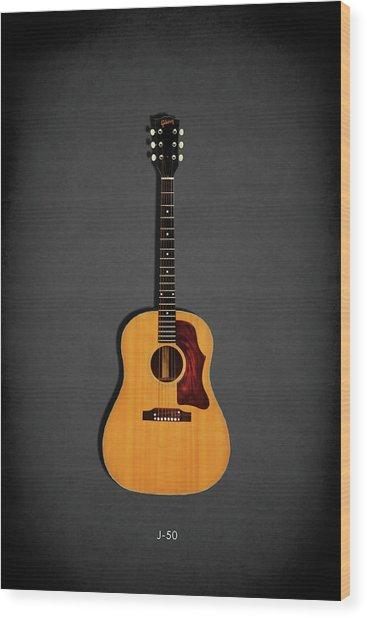 Gibson J-50 1967 Wood Print