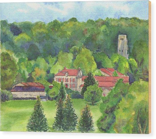 Giet Wood Print