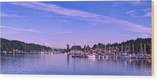 Gig Harbor Bay Wood Print