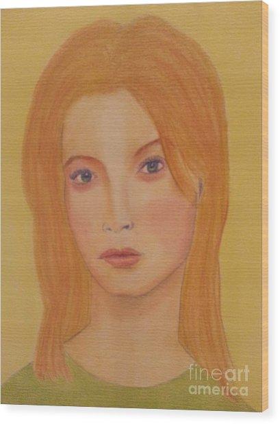 Gigi Wood Print