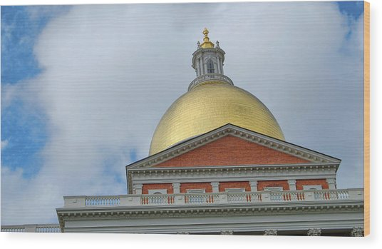 Gilded Dome Wood Print by JAMART Photography