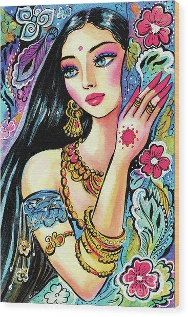 Gita Wood Print