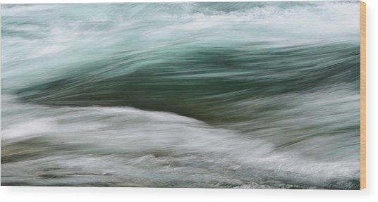Glacial Tears Wood Print