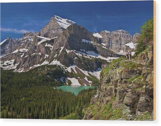 Glacier Backcountry 2 Wood Print