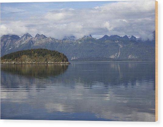 Glacier Bay 10 Wood Print