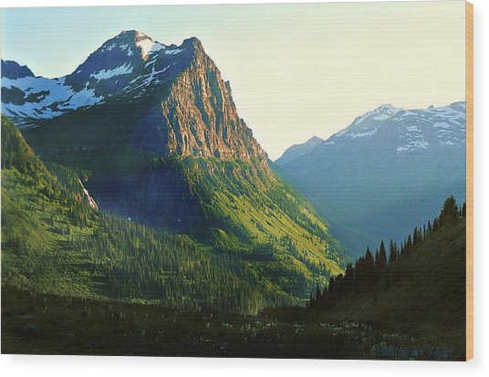 Glacier National Park 2 Wood Print