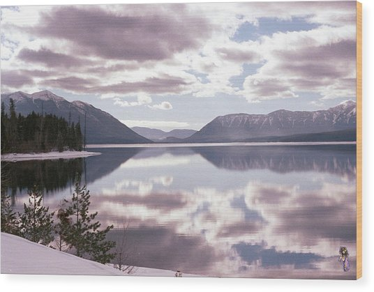Glacier National Park 6 Wood Print