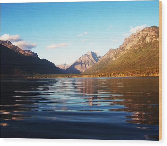 Glacier National Park 7 Wood Print