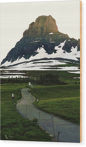 Glacier National Park 8 Wood Print