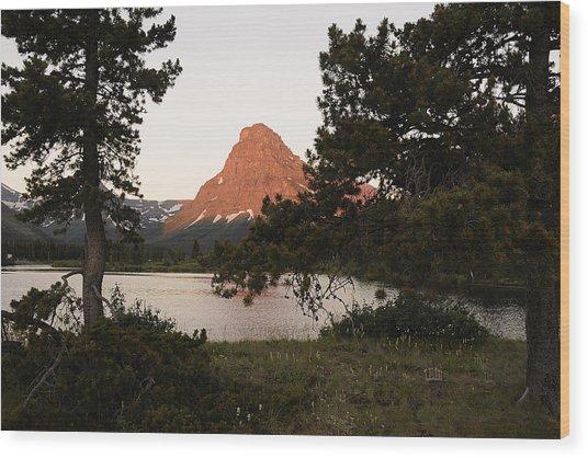 Glacier Nat'l Park-montana Wood Print by Keith Lovejoy