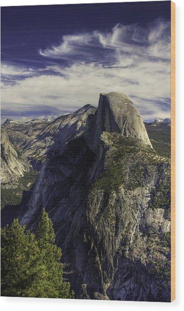Glacier Point Wood Print by Jim Riel