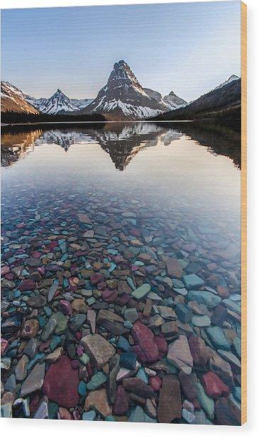 Glacier Skittles Wood Print