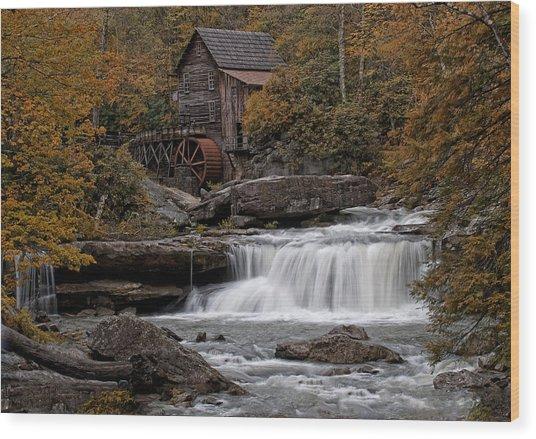 Glade Creek Mill 2011 Wood Print