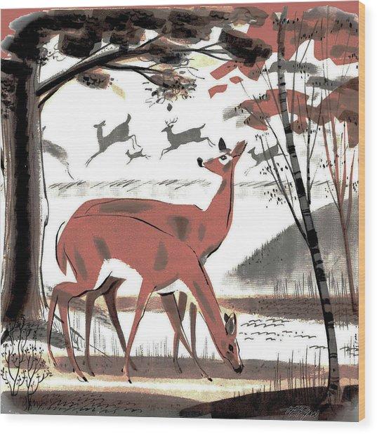 Glade Wood Print