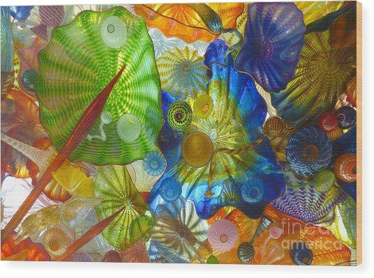 Glass Ceiling 5 Wood Print