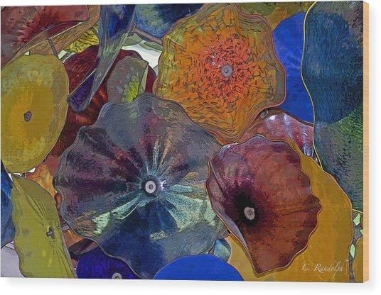 Glass Ceiling Wood Print