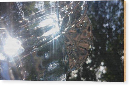 Glass Series #1 Wood Print by Emiliano Monchilov