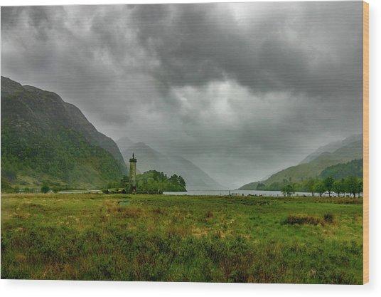 Glencoe, Scotland Wood Print