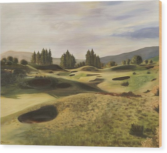Gleneagles Kings Course Wood Print
