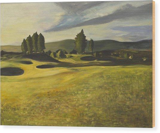 Gleneagles Queens Course Wood Print