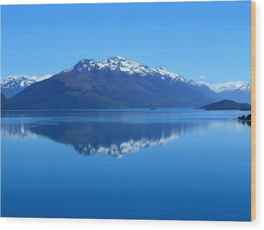 Glenorchy Road New Zealand Wood Print