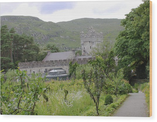 Glenveagh Castle Gardens 4287 Wood Print