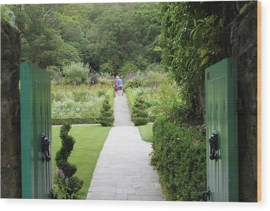 Glenveagh Castle Gardens 4272 Wood Print