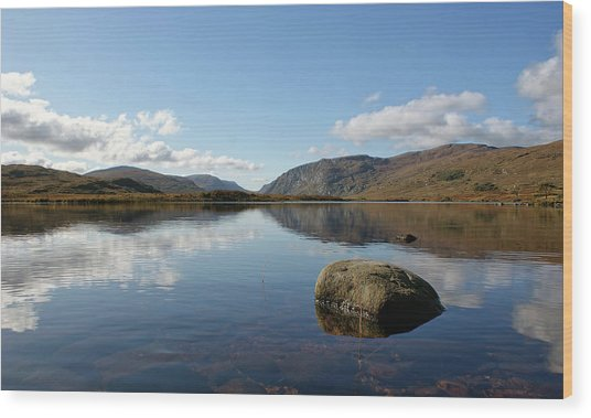 Glenveagh National Park, County Donegal, Ireland. Wood Print