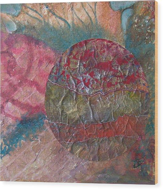 Global Series 1 Wood Print by John Vandebrooke