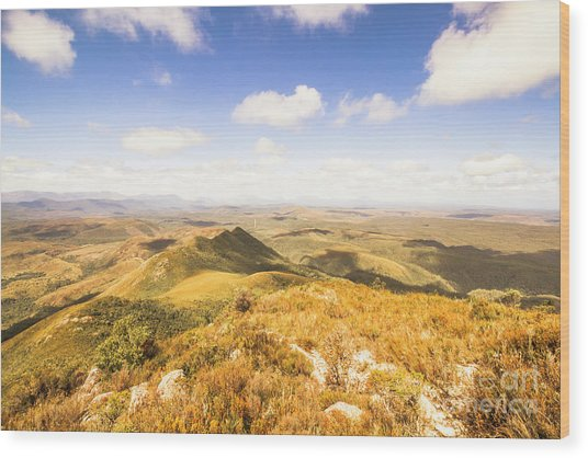 Glorious Tasmania Wood Print