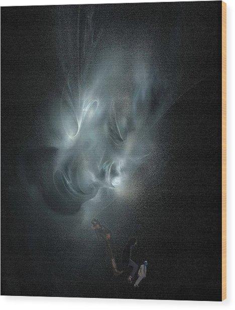 Glory And Pain Wood Print by Viktor Savchenko