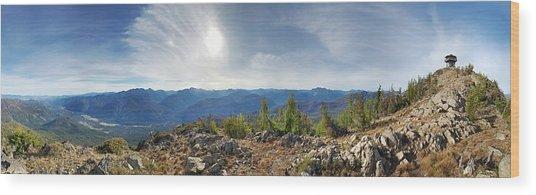Goat Peak Wood Print