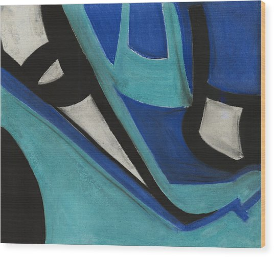 God's Eye Dyptych 1 Wood Print by Diallo House