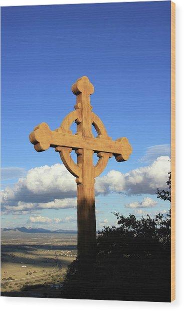 God's View II Wood Print