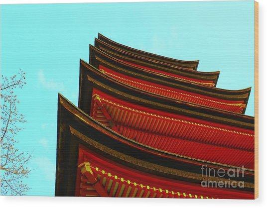 Gojunoto Wood Print