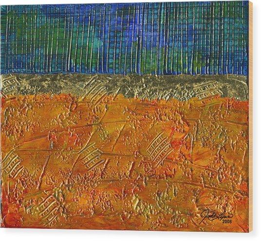 Gold Coast Wood Print