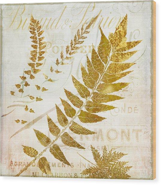 Golda I Wood Print