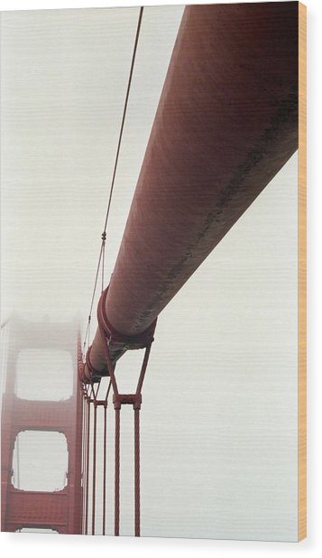 Golden Gate 3 Wood Print