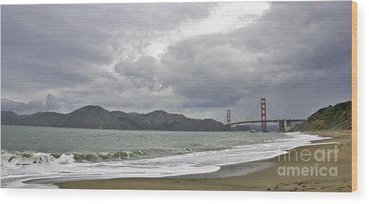 Golden Gate Study #2 Wood Print