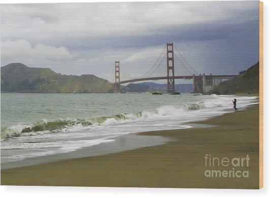 Golden Gate Bridge #4 Wood Print