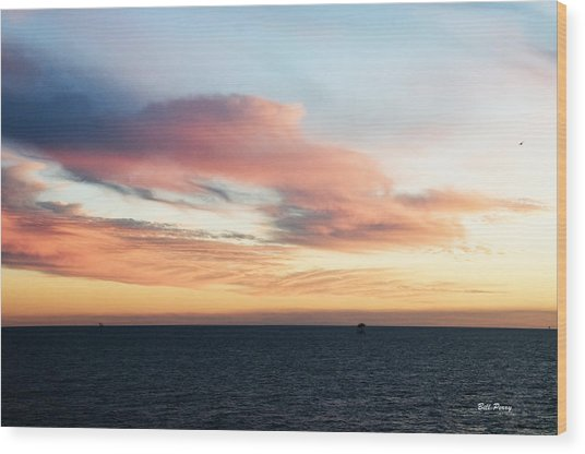 Golden Sunrise II Wood Print by Bill Perry