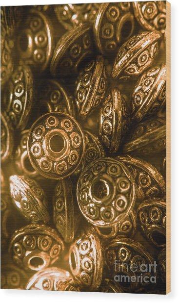 Golden Ufos From Egyptology  Wood Print