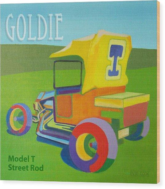 Goldie Model T Wood Print