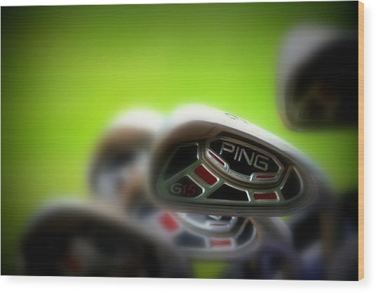 Golf Clubs 2 Wood Print