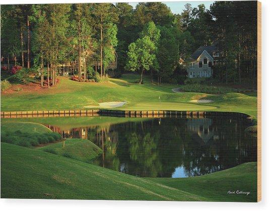Golf The Landing #3 Reynolds Plantation Lake Oconee Ga Art Wood Print