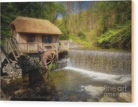 Gomez Mill House Wood Print