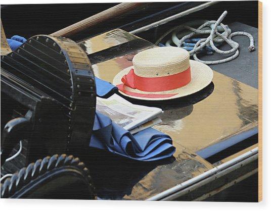 Gondolier's Hat Wood Print